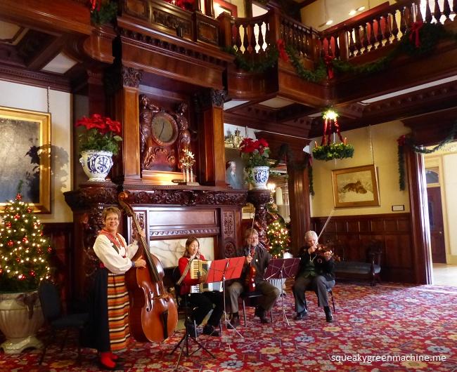 Julmarknad musicians